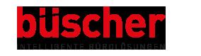 büscher gmbh bürowelten von morgen logo