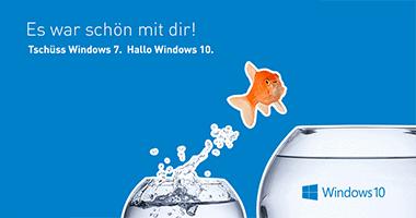 Der Support für Windows 7 wird eingestellt!